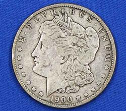 1900 O Toned Raw Morgan Dollar