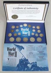 World War 11 Collection With 22 Coins
