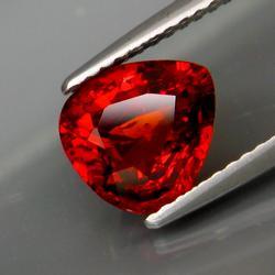 Fiery 2.54ct red orange Spessartite Garnet