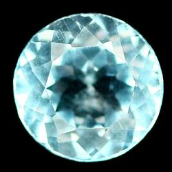 High fire AAA 4.45ct 10mm Topaz solitaire