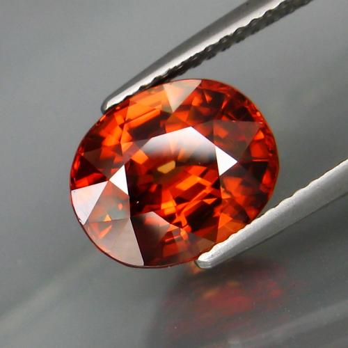 Exquisite 4.86ct unheated Imperial Zircon