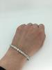 Platinum 5.85CTW Diamond Tennis Bracelet