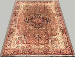 Haighly Decorative Mid-20th C. Handmade Vintage Persian Heriz