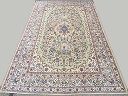 1960s Fine Authentic Handmade Vintage Persian Rug