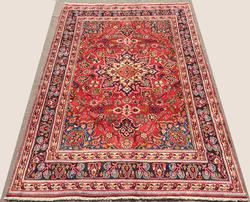 Exquisite 1970s High Quality Vintage Royal Persian Rug