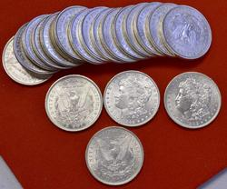 AU Roll of Pre-1921 Morgan Dollars