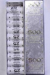 500 2005 Bison Nickels, BU in Box
