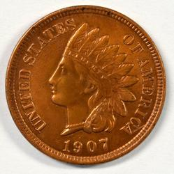 Great Uncirculated 1907 Indian Head Cent