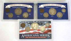 Three Americana Series  YesterYear Collections