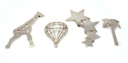 Lot of Four Sterling Pins