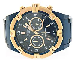 Guess Chronograph Rose Gold Watch