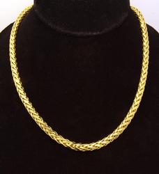 24in Thick Gold Spiga Chain
