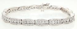 Elegant 5ctw Diamond Tennis Bracelet