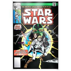 2019 35 gram Silver Foil Star Wars Comics #1
