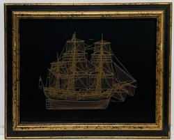 THE ENDEAVOUR BARK LIMITED EDITION ETCHING