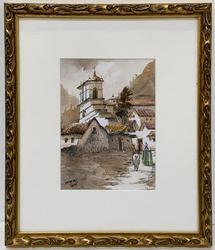 Original Signed Watercolor