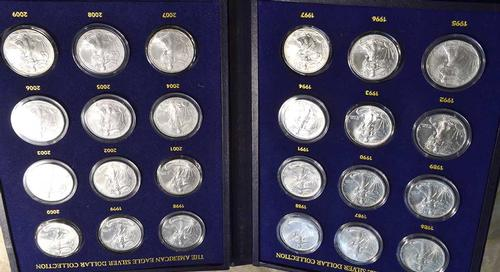1986-2009 BU Silver Eagle Collection