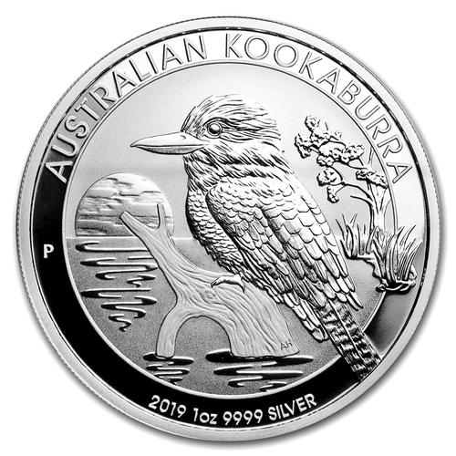 2019 1oz Australian Kookaburra Silver