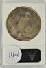 Great near Mint 1921 Peace Silver Dollar. ANACS AU53