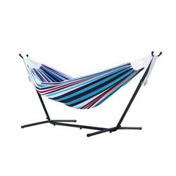 Double Denim Hammock with Stand (9ft)