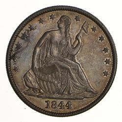 1844 Seated Liberty Half Dollar - Near Uncirculated