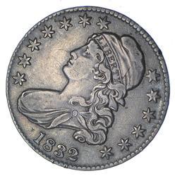 1832 Capped Bust Half Dollar - O-102a - Circulated