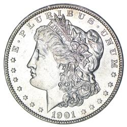 1901 Morgan Silver Dollar - Choice