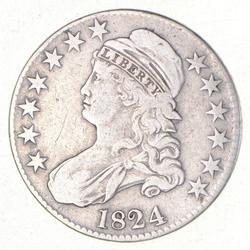 1824 Capped Bust Half Dollar - O-105