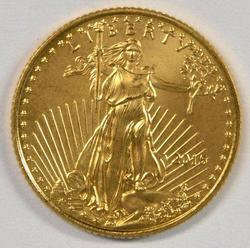 Pristine Superb Gem BU 2015 $5 Gold Eagle