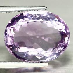 Brilliant 17.51ct violet Brazilian Amethyst