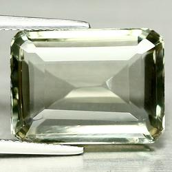 Elegant 14.23ct crystal clear green Amethyst