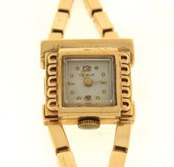 Vintage Ladies Gold Geneve Watch
