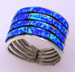 Lovely Sterling Ring Navajo Crafted, Size 6.25, new
