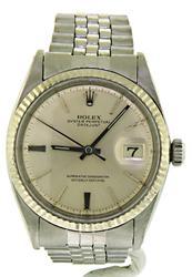 Rolex Datejust Men's Stainless Steel Watch