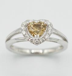 Platinum and Multi-Diamond Ring