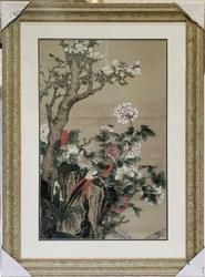 Beautiful Photogravure of a Chinese Scroll