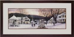 ''Sleigh Bells'' Lithograph by William Breedon