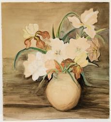 Original Flowers Watercolor on Paper