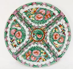 Vintage Green China Plate