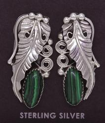 Navajo Crafted Sterling Earrings, New