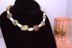 Navajo Crafted Necklace & Earring Set