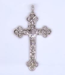 Navajo Crafted Cross Pendant