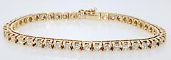 Awesome Tennis Diamond Bracelet
