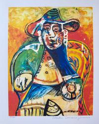 Pablo Picasso, Seated Old Man