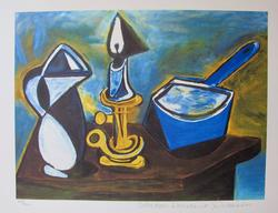 Pablo Picasso, Still Life With Candle