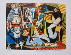 Pablo Picasso, Women Of Algiers