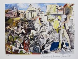 Pablo Picasso, Rape Of Sabine Women