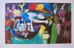 Pablo Picasso, Night Fishing At Antibes
