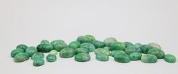 Big Lot of Green Beryl Gemstones