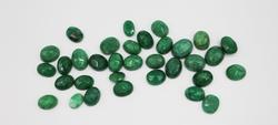 Lot of Faceted Green Beryl